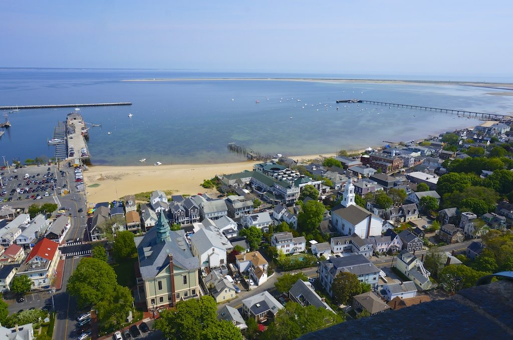 Provincetown from The Pilgrim Monument
