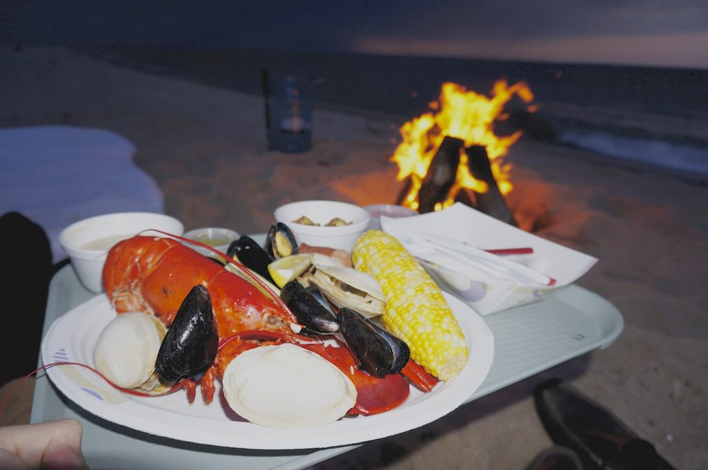 Clambake on the beach