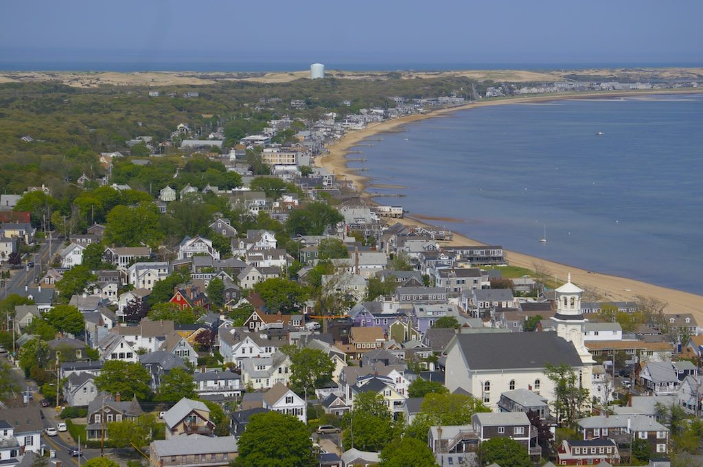 Provincetown From Up Above