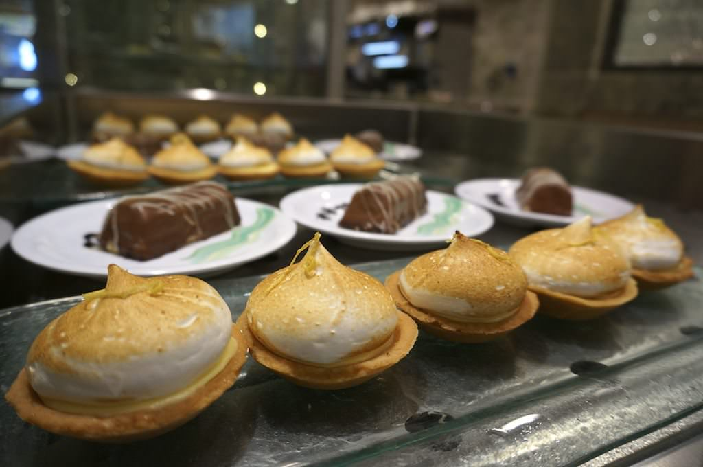 Complimentary Pastries