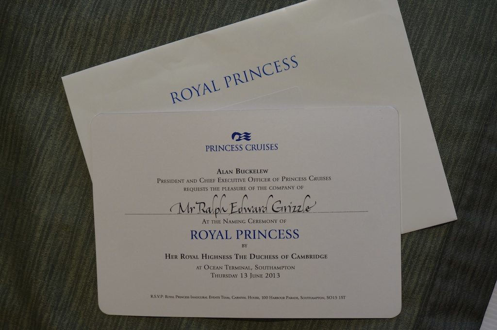 Invitation to a Royal Event