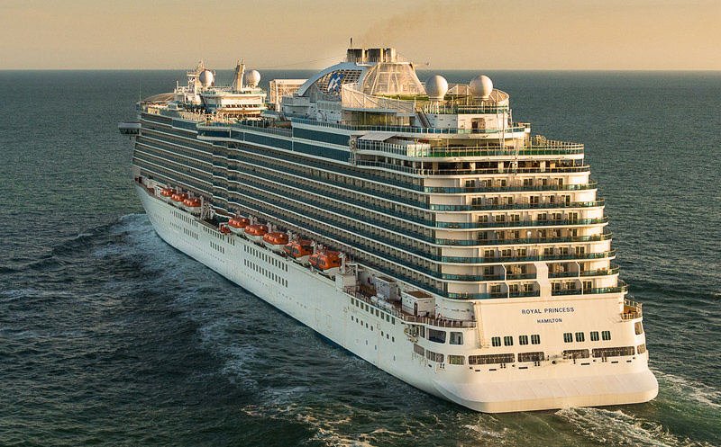 Royal Princess sets sail on her maiden voyage this coming Sunday. Photo courtesy of Princess Cruises