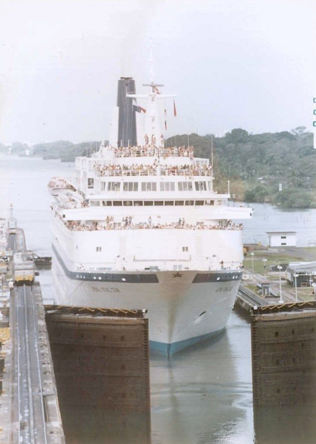 Star in Panama Canal