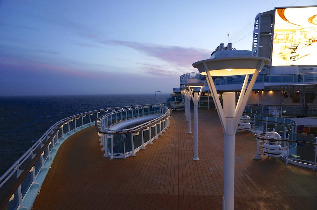 Deck 17, Above The SeaWalk