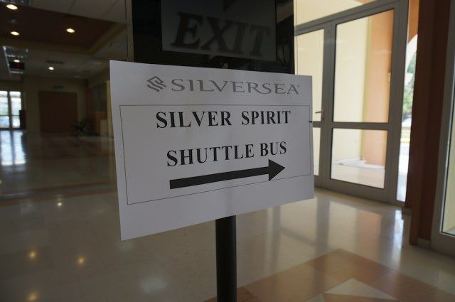 Silversea Cruise Free Shuttle To Town