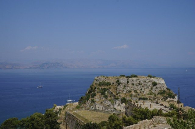 View from the Old Fortress, Corfu
