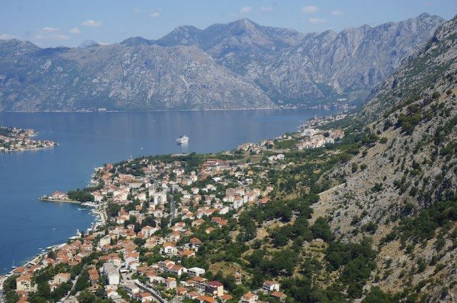 View of Kotor Bay. © 2013 Ralph Grizzle
