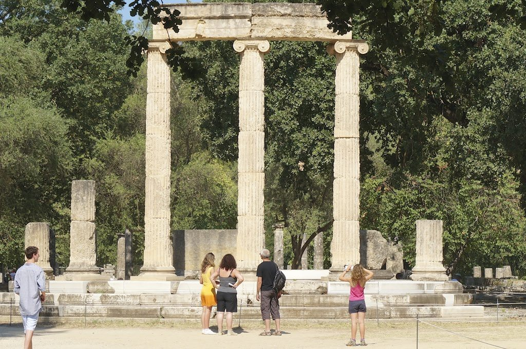 An excellent tour visiting Olympia (Greece) and the Archaeological Museum on a Silver Spirit shore excursion. @ 2013 Ralph Grizzle