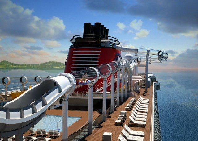 AquaDuck on Disney Dream. - courtesy Disney Cruise Line