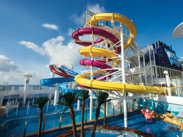 NCL Breakaway AquaPark. - courtesy Norwegian Cruise Line