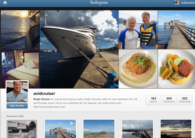 Download the app and follow avidcruiser on Instagram for a visually rich travel experience.