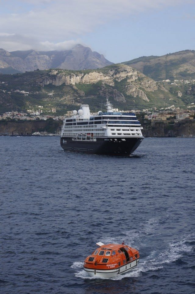 Azamara Quest in Sorrento, italy. @ 2013 Ralph Grizzle