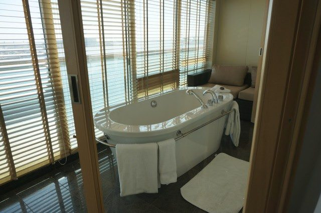 Wintergarden Suite on Seabourn Quest from Barcelona, Spain, to Athens, Greece. @ 2013 Ralph Grizzle