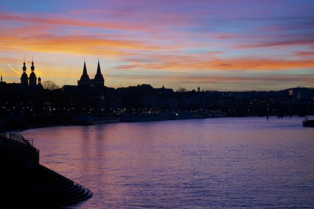 Sunset in Koblenz. © 2013 Ralph Grizzle