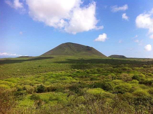 Floreana Island was accidentally burned to the ground in 1830 by crew from the whaleship Essex - which would be rammed by a whale the following year and provide inspiration fro the novel, Moby Dick. Photo courtesy of Wikipedia / Creative Commons