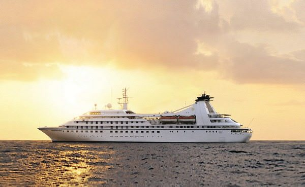 Seabourn Pride at Sea. Courtesy Seabourn Cruise Line