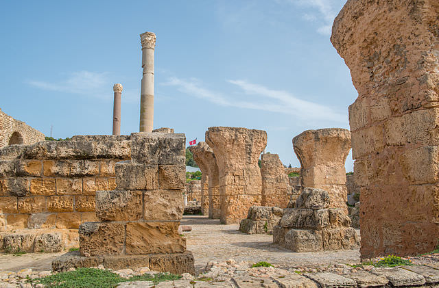 Guests aboard Silver Wind's Voyage 2334 will have the opportunity to explore the ancient ruins of Carthage, Tunisia. Photo courtesy of Wikipedia / Creative Commons.