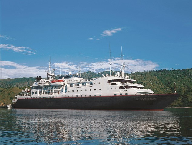 Silversea's Silver Discoverer will enter service on March 1, 2014. Photo courtesy of Silversea.
