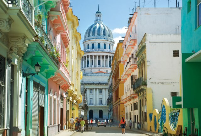 The opportunity to visit Havana is one of the main attractions on this circumnavigation of Cuba. Photo courtesy of Cuba Cruise