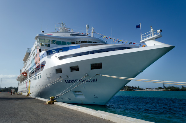 Cuba Cruise's Louis Cristal arrives back in Montego Bay, Jamaica. Photo © 2014 Aaron Saunders