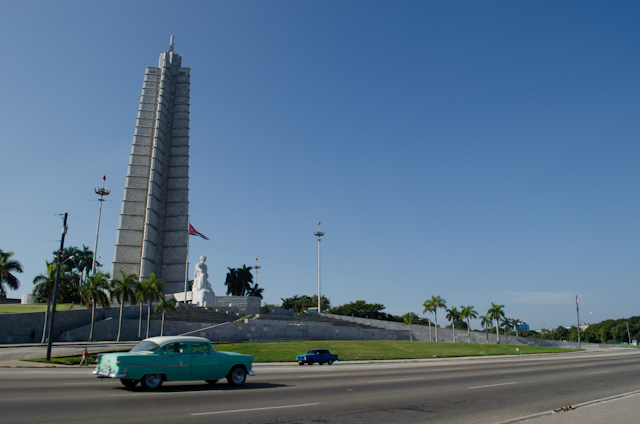 Our first stop of the day: Revolution Square. Photo © 2014 Aaron Saunders