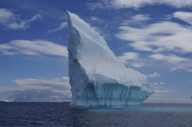 Want to see icebergs like this one? Cruise to Antarctica. Sculpted by nature. @ 2013 Ralph Grizzle