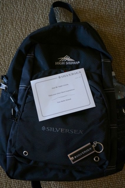Silversea backpack
