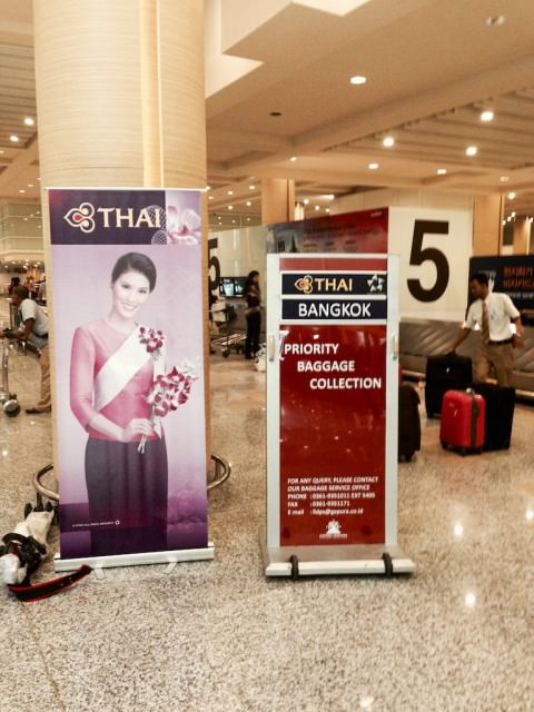 Thai Airways' Priority Baggage Collection