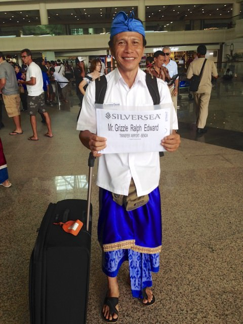 Greeting At Bali Airport