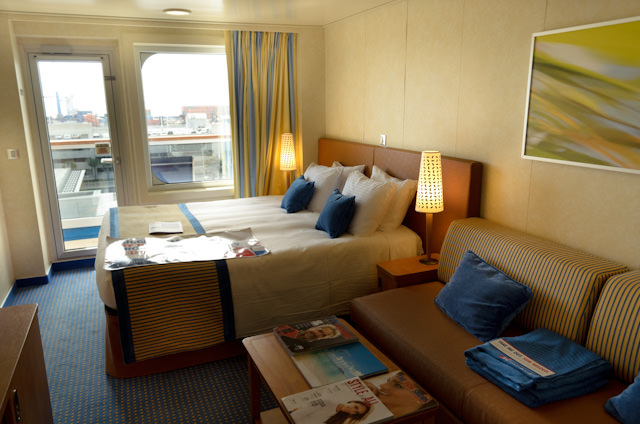 Home Sweet Home: My Category 8A Balcony Stateroom aboard Carnival Breeze. Photo © 2014 Aaron Saunders