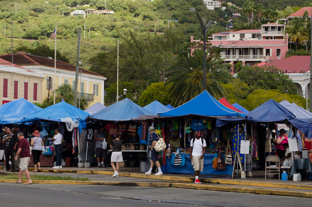 A local craft market is set up on the outskirts of town. Photo © 2014 Aaron Saunders