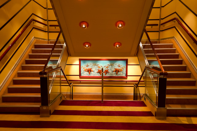 Back up to the room. What will tomorrow's adventures aboard Carnival Breeze bring? Photo © 2014 Aaron Saunders