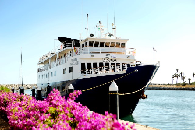 The sleek Safari Voyager carries just 64 guests, and entered service for Un-Cruise Adventures at the end of 2013. Photo courtesy of Un-Cruise Adventures.