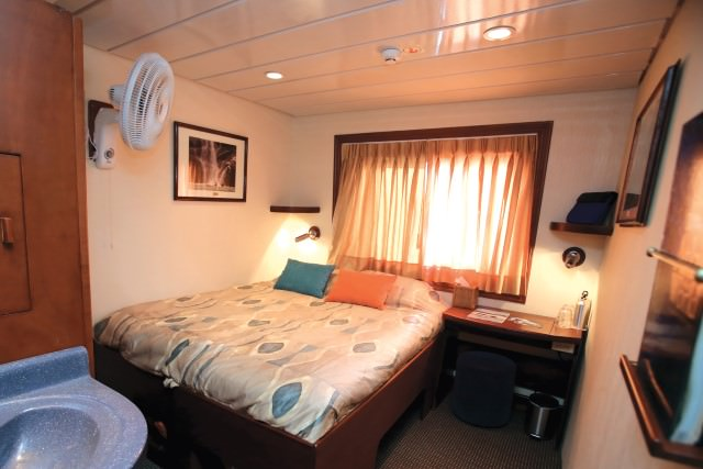 My home-away-from-home in March will be one of the ship's inviting-looking Commander Staterooms. Photo courtesy of Un-Cruise Adventures.