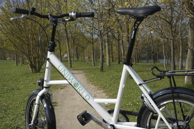 Uniworld's bicycles are free to use and easy to pedal. © 2014 Ralph Grizzle
