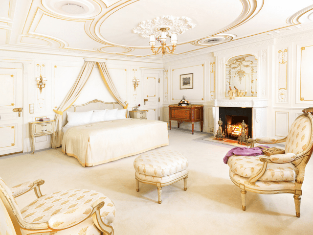 Sea Cloud's Luxury Owner's Suite once exquisitely decorated and occupied by Marjorie, one can still feel her determination to create a luxurious home at sea. © Sea Cloud Cruises