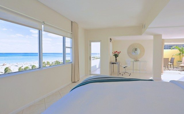 The Penthouse Suite at South Seas Hotel.