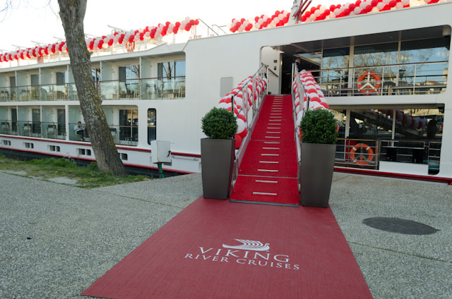 Welcome to the Viking River Cruises Longships Class of 2014 in beautiful Avignon, France! Photo © 2014 Aaron Saunders
