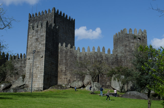 """The ancient city of Guimarães, our overland excursion with Viking as part of their """"Portugal's Rivers of Gold"""" itinerary. Photo © 2014 Aaron Saunders"""