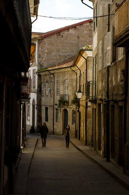 The gorgeous streets of Guimarães, Portugal. Photo © 2014 Aaron Saunders