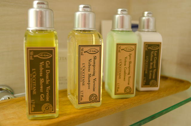 What doesn't change between Longships, however, are the amenities - like L'Occitane toiletries. Photo © 2014 Aaron Saunders