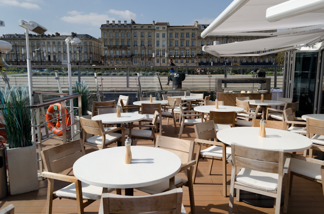 The Aquavit Terrace is one of Viking's most notable innovations aboard the Viking Longships. Photo © 2014 Aaron Saunders