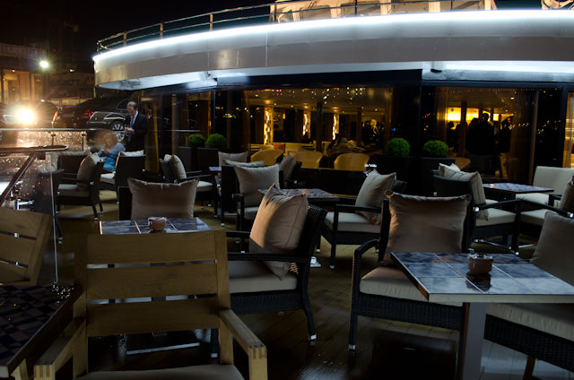 Viking's new ships on the Douro also feature the line's signature Aquavit Terrace. Photo © 2014 Aaron Saunders