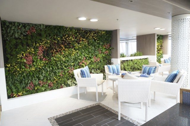 Crystal Serenity Living Walls