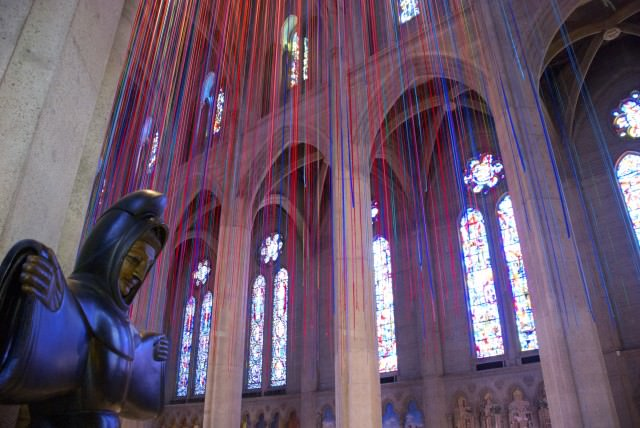 "Grace Cathedral is ""a house of prayer for all people, no exceptions."" © 2014 Gail Jessen"