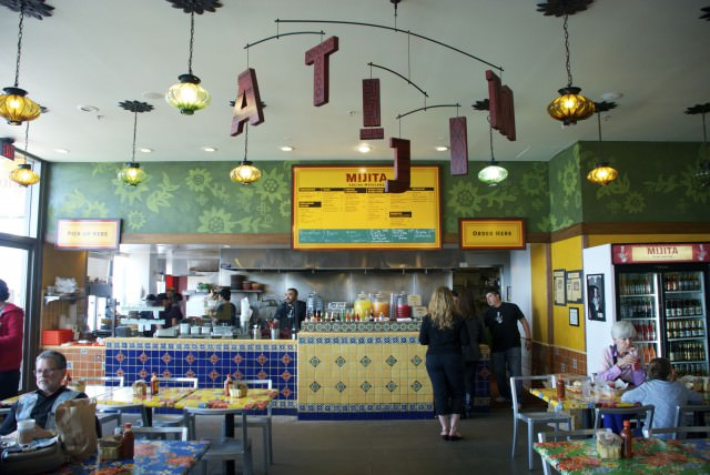 Mijita Cocina Mexicana, at the east end of the Ferry Building, serves breakfast fare all day. © 2014 Gail Jessen