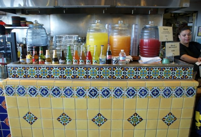 Authentic ambiance (with less than authentic food) at Mijita Cocina Mexicana. © 2014 Gail Jessen
