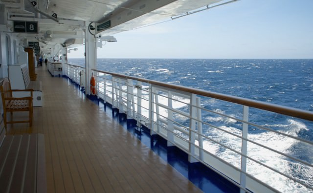 The picturesque Star Princess Promenade, deck 7. © 2014 Heather Bush