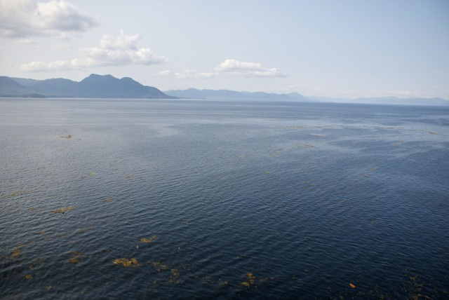 The Tongass Narrows north of Ketchikan. © 2014 Gail Jessen