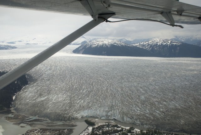 The Juneau Icefield covers 1,500 square miles. © 2014 Gail Jessen
